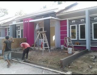 Contoh Rumah Subsidi Yang Sudah Dibangun Developer Lokasi di Binjai