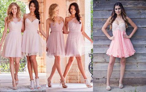 Que zapatos me pongo con un vestido palo rosa ?