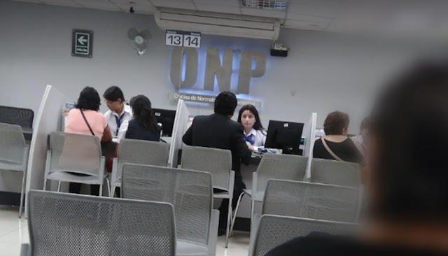 Reforma integral del sistema de pensiones ONP