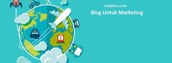 Cara memulai blog untuk marketing