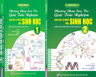 phương pháp giải nhanh trắc nghiệm sinh học full 2 tập