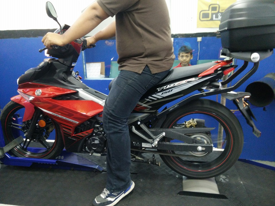 YAMAHA Y15ZR TUNED UP AND DYNO RUN BY REDSPEED MOTORSPORT