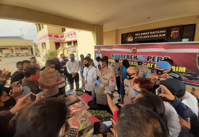 Geng Motor Pembacok Polisi di Cianjur Ditangkap, Pelaku Ternyata Residivis