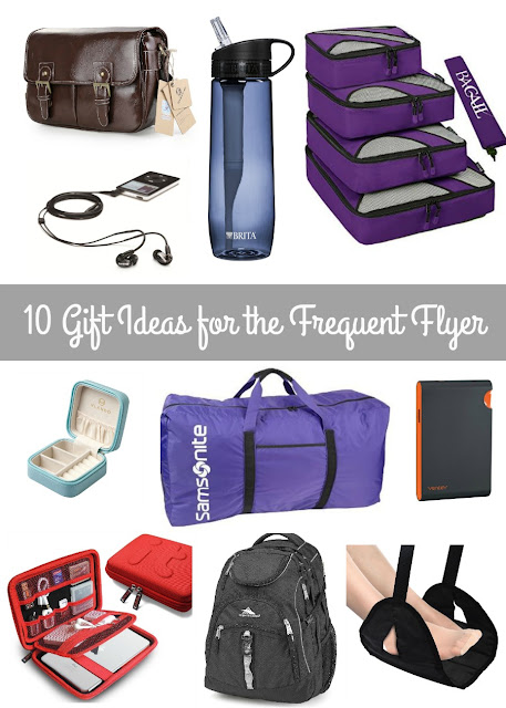 From the organized packer to the techie traveler, you will find a little something for all your favorite jet setters this holiday season with this collection of 10 Gift Ideas for the Frequent Flyer.