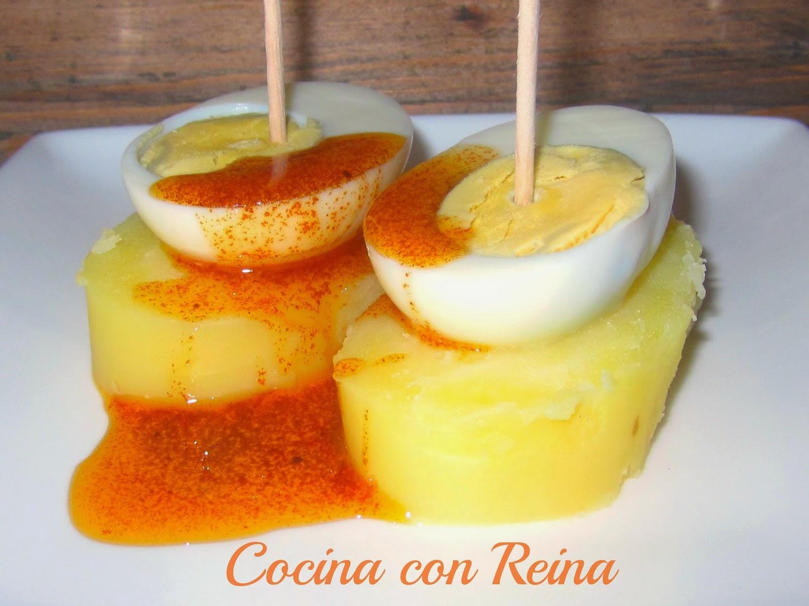 huevos a la gallega conunpardehuevosts cocina con reina