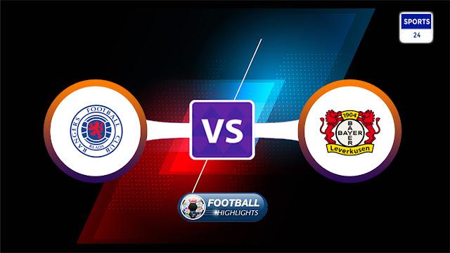 Rangers vs Bayer Leverkusen – Highlights