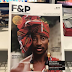 Gay rights activist Bisi Alimi covers Australia's F& P magazine with dons gele, earrings and neck beads{Photos}