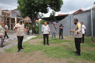 Kapolresta dan Wali Kota Cek Persiapan Launching Kampung Tangguh Kelurahan Tisnonegara