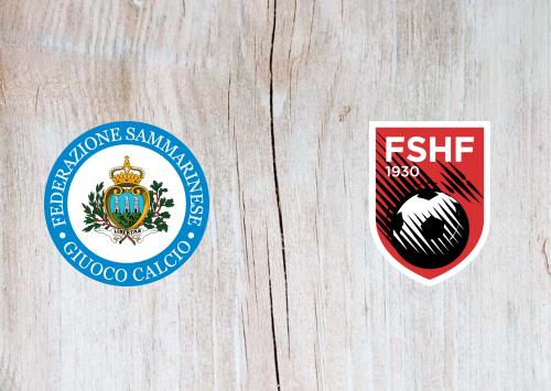 San Marino vs Albania -Highlights 31 March 2021