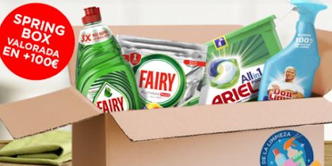 sorteo productos limpieza Springbox Proxima A Ti