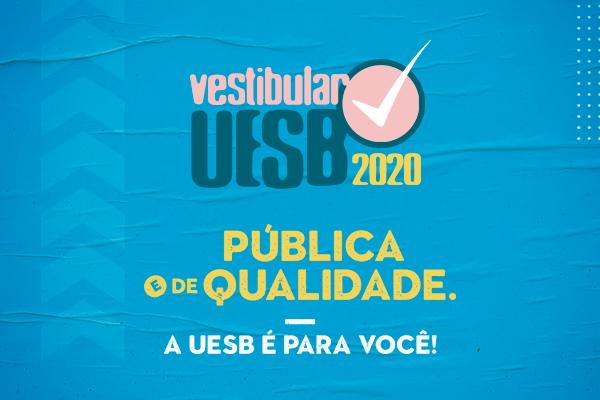 Uesb abre inscrições para o Vestibular 2020