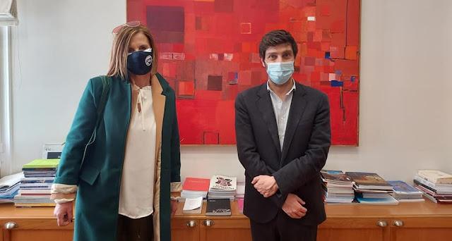 Συναντήσεις με Γιατρομανωλάκη και Διδασκάλου είχε η Πρόεδρος του ΔΟΠΠΑΤ Μαρία Ράλλη