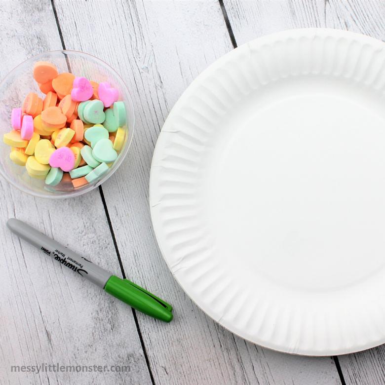 Valentine math for preschoolers