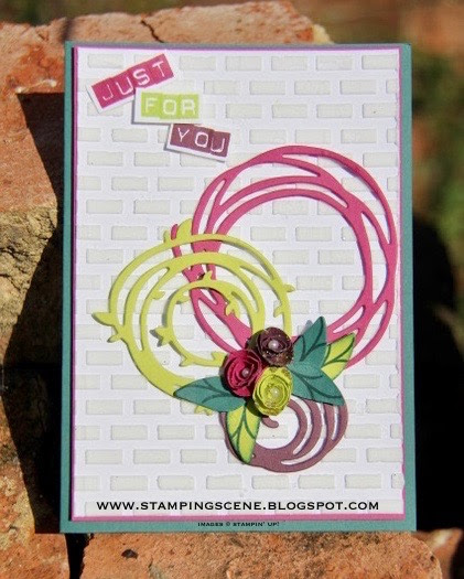 Craft Stamper and Stampin' Up! Swirly Scribbles