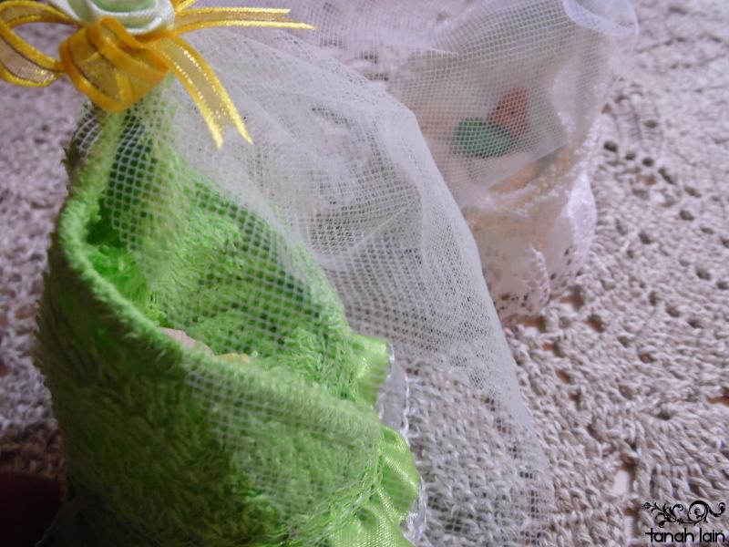 Cuna de toalla