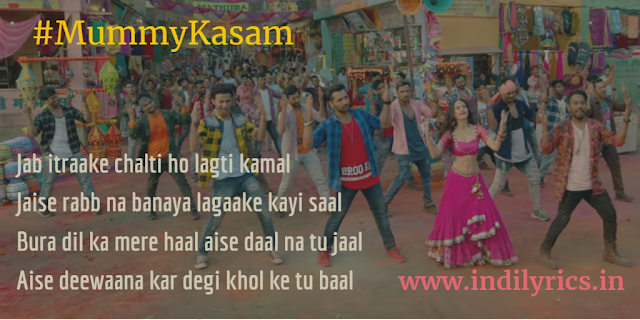 Mummy Kasam | Nawabzaade | Audio song Lyrics with English Translation and Real Meaning