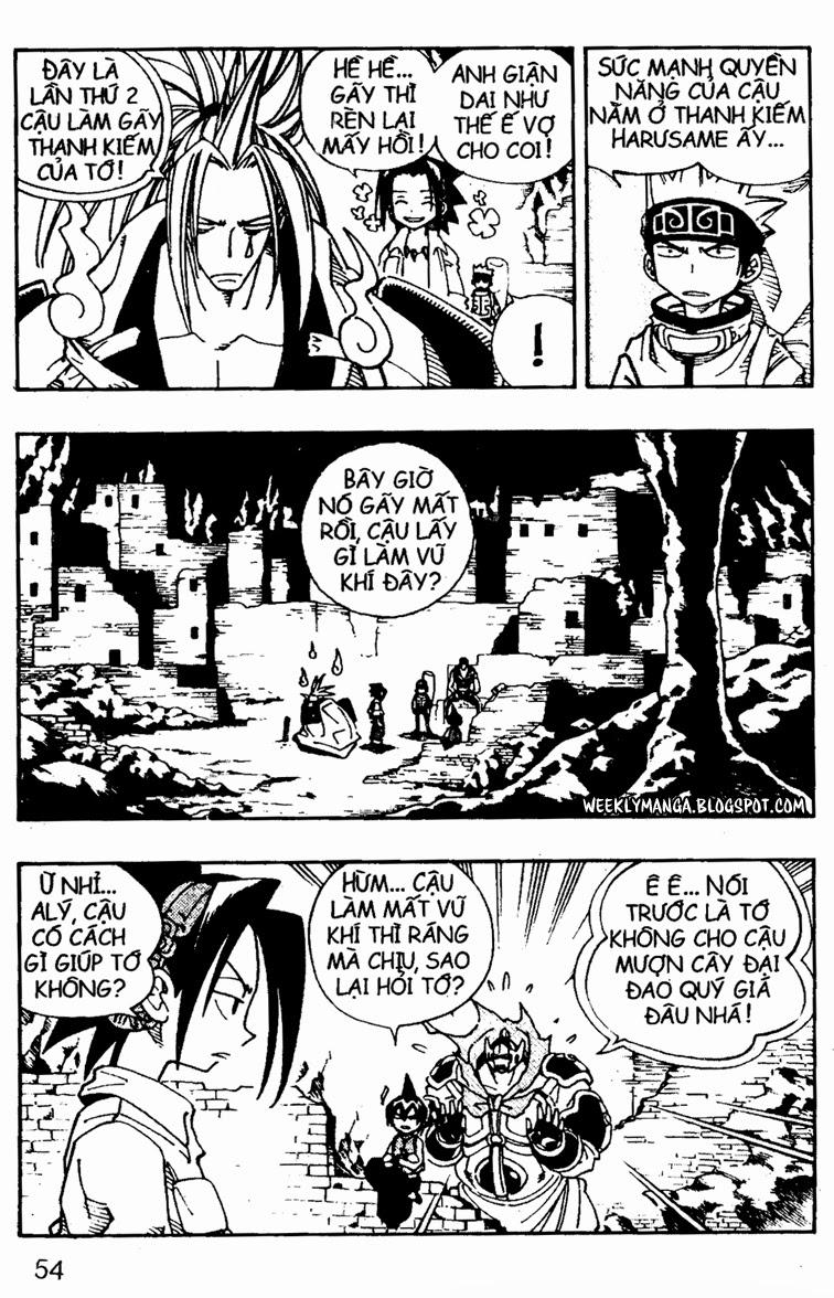 Shaman King [Vua pháp thuật] chap 106 trang 15