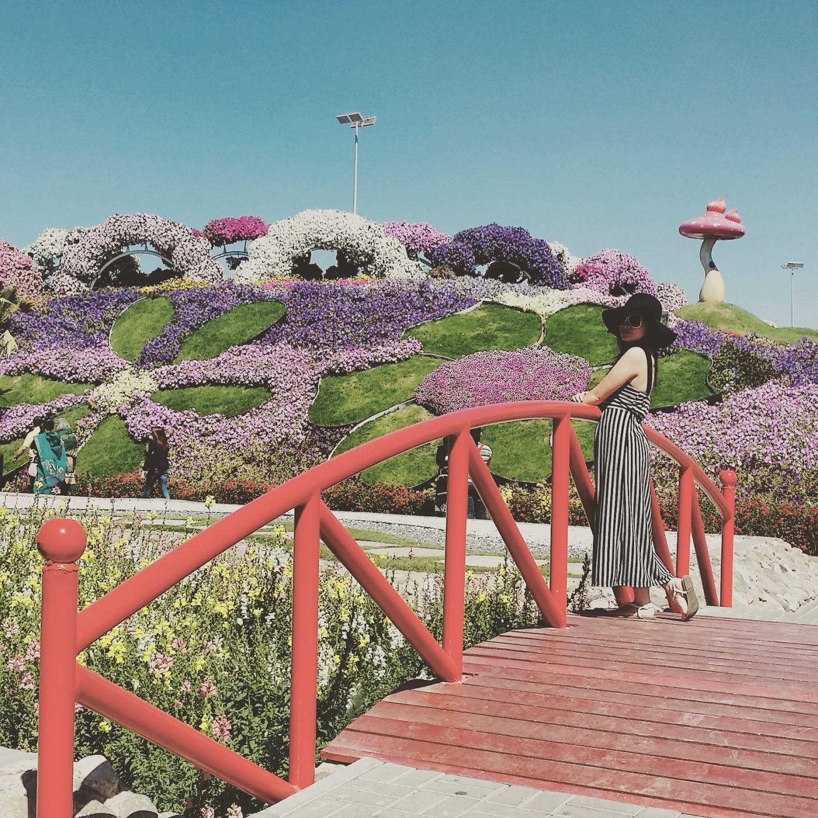Kristel Travels: Dubai Miracle Garden & Global Village