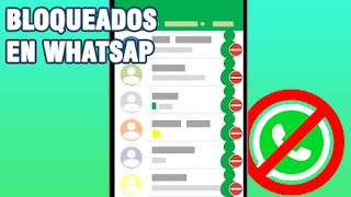 bloqueados en whatsapp