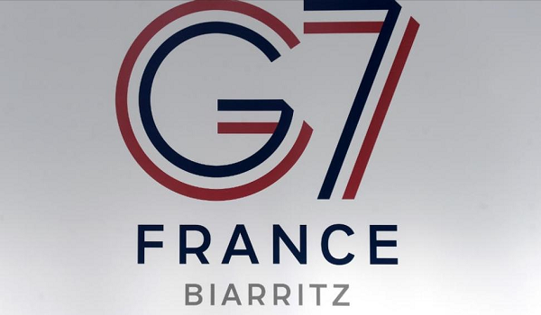 FRANCE AND THE UNITED STATES STOP FRENCH DIGITAL TAX PROPOSED BY MACRON AT THE G7