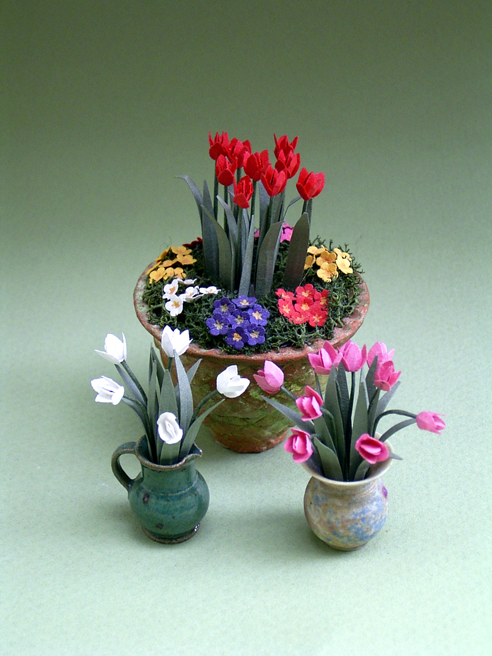 The Miniature Garden Spring Flowers