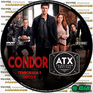 GALLETA 3   CONDOR - 2018 - TEMPORADA 1 [SERIE TV]