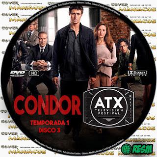 GALLETA 3 CONDOR - 2018 - TEMPORADA 1 [SERIE TV]