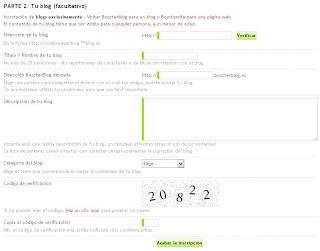 BoosterBlog Tutorial de registro e indexación pagina web bau