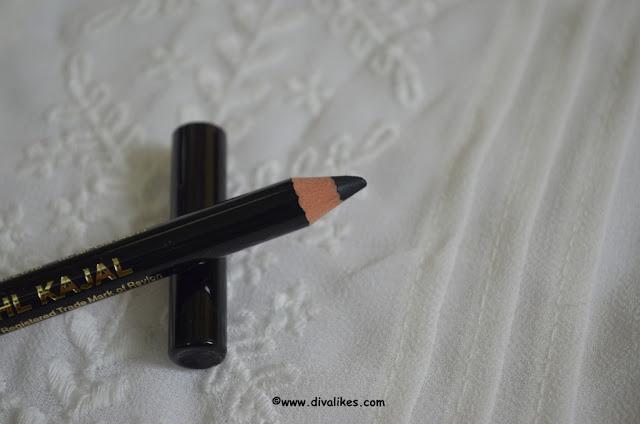 Revlon Kohl Kajal Eyeliner Pencil 011 Black Shade