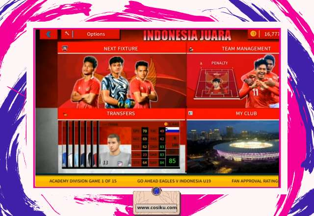 DLS 22 Mod Timnas Indonesia U-19 APK+OBB Update Kits & Squad