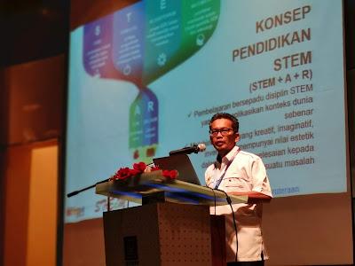 Ketua Unit Pusat STEM Negara, Dr. Ihsan Ismail