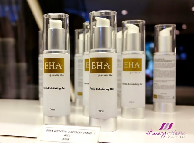 eha skincare gentle exfoliating gel review giveaway