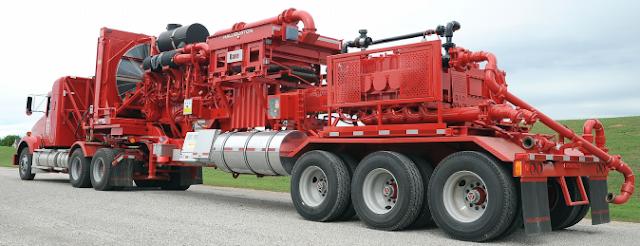 equipamiento para ejecucion de fractura hidraulica fracturador