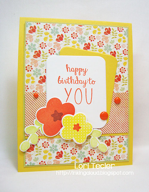 Happy Birthday to You card-designed by Lori Tecler/Inking Aloud-stamps and dies from Reverse Confetti