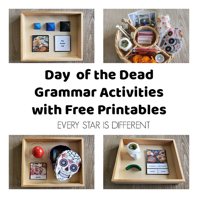 Day of the Dead Grammar Activities with Free Printables