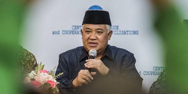 Jokowi Luncurkan Gerakan Wakaf, Din Syamsuddin: Berwakaf Ke Ormas Atau Lembaga Islam!
