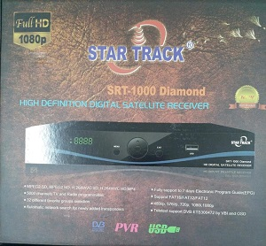 Star track receiver SRT 1000 DIAMON