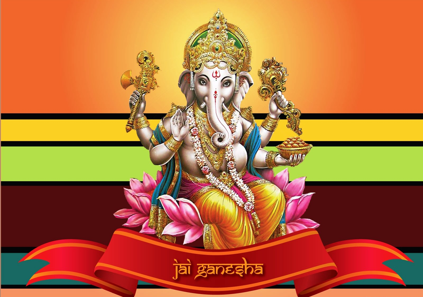 Jai Shri Ganesha Hd Wallpapers Fun At Infosyte