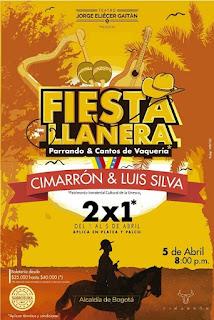 FIESTA LLANERA Teatro Jorge Eliecer Gaitan Bogota 2019