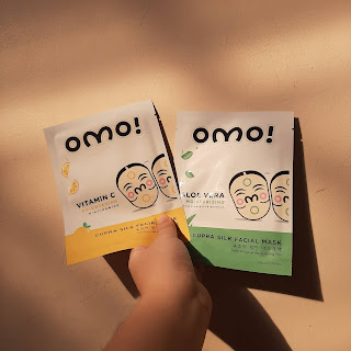 OMO! Cupra Silk Facial Mask