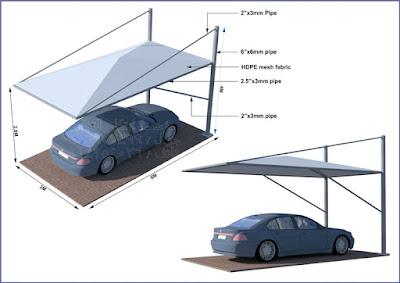 تركيب مشاريع مظلات سيارات وسواتر في الطائف