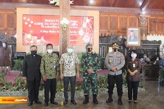 Ibadah Natal bersama TNI POLRI KORPRI dan Pensiunan Kristiani se-Kabupaten Jepara