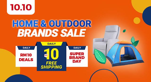 Home & Outdoor Brands Sale Shopee
