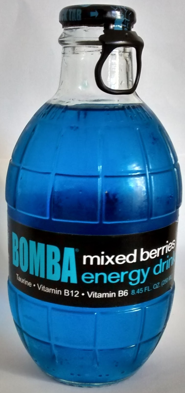 Caffeine King Bomba Mixed Berries Energy Drink Review