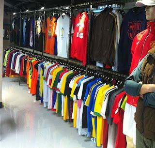 gambar toko jersey di pasar tanah abang