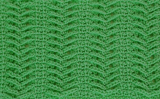 6-Imagenes Crochet Puntada de espiga a crochet y ganchillo por Majovel Crochet