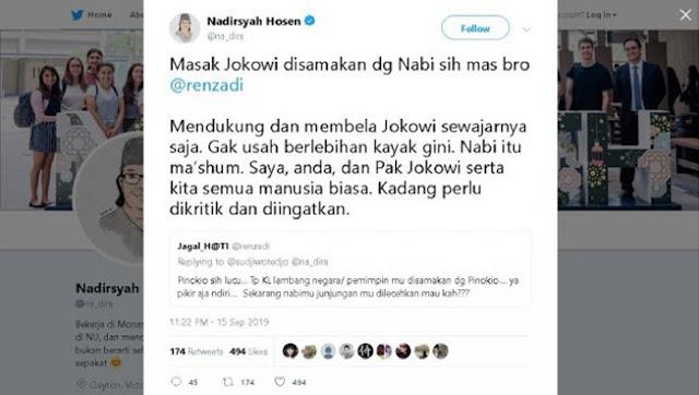 Gus Nadir soal Pinokio: Mendukung Jokowi Sewajarnya Saja, Enggak Usah Berlebihan