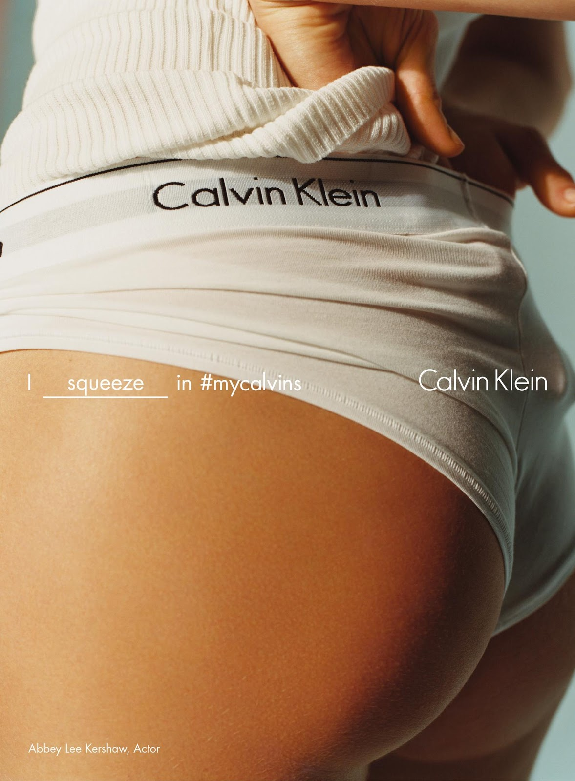 Abbey Lee Kershaw & More for Calvin Klein Underwear Spring/Summer 2016