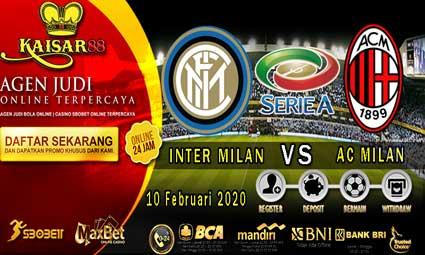 PREDIKSI BOLA TERPERCAYA INTER MILAN VS AC MILAN 10 FEBRUARI 2020