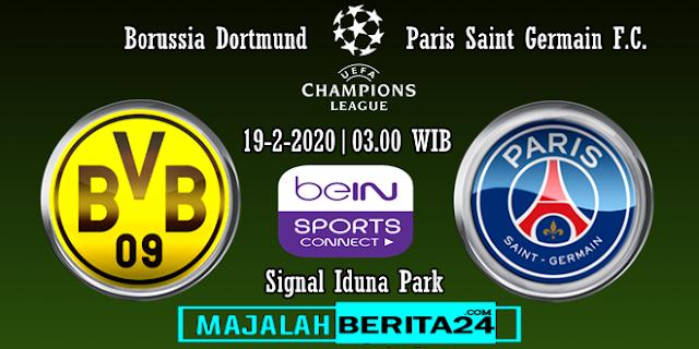 Prediksi Borussia Dortmund vs Paris Saint Germain